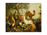 An Allegory of Asia Giclee Print by Alexandre-Francois Desportes
