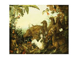 An Allegory of Africa Giclee Print by Alexandre-Francois Desportes