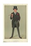 Mr F E Smith, a Successful First Speech, Moab Is My Washpot, 16 January 1907, Vanity Fair Cartoon Reproduction procédé giclée par Sir Leslie Ward
