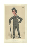 The Marquess of Queensbury Reproduction procédé giclée par Sir Leslie Ward