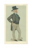 Mr Charles Tennant, Glasgow, 9 June 1883, Vanity Fair Cartoon Reproduction procédé giclée par Sir Leslie Ward
