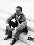 James Baldwin, 1977 Fotografie-Druck