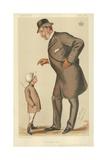 The Earl of Westmoreland, the Affable Earl, 10 November 1883, Vanity Fair Cartoon Reproduction procédé giclée par Sir Leslie Ward