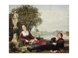 Heloise and Abelard Gicléetryck av Robert Bateman