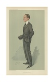 Guglielmo Marconi Reproduction procédé giclée par Sir Leslie Ward