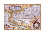 Map of Persia  1638