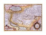Mapa de Persia, 1638 Lámina giclée por Gerardus Mercator