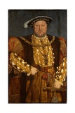 Portrait of King Henry VIII Giclee Print by Hans Holbein the Younger
