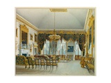 The Saloon, Devonshire House Giclee Print by William Henry Hunt