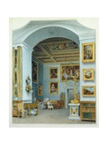 The Gallery at Chiswick House Giclee Print by William Henry Hunt