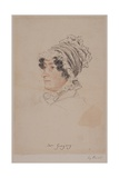 Mrs Hannah Gregory Giclee Print by William Henry Hunt