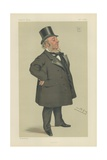 Sir George Elliot Reproduction procédé giclée par Sir Leslie Ward