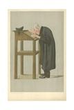 Mr W a Spooner, Spooner, 21 April 1898, Vanity Fair Cartoon Reproduction procédé giclée par Sir Leslie Ward