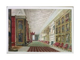 The Long Gallery, Hardwick, 1828 Giclee Print by William Henry Hunt