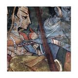 A Detail from One of the Legends of Krishna Lámina giclée