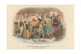 Illustration for David Copperfield Reproduction procédé giclée par Hablot Knight Browne