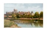 Windsor slott Giclee-trykk av Alfred Robert Quinton