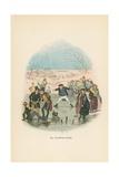 Illustration for Pickwick Papers Reproduction procédé giclée par Hablot Knight Browne