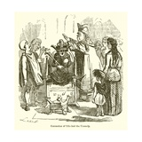 Coronation of Ethelred the Unready Giclee Print by John Leech