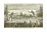 Duel Between Alexander Hamilton and Aaron Burr Giclée-vedos
