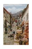 High Street, Clovelly Giclée-Druck von Alfred Robert Quinton