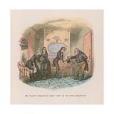 Illustration for Nicholas Nickleby Reproduction procédé giclée par Hablot Knight Browne
