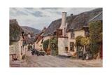 The Ship Inn, Porlock Giclee-trykk av Alfred Robert Quinton