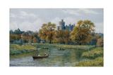 Arundel Castle Giclee-trykk av Alfred Robert Quinton