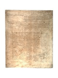 The Ordinance of Secession for the State of South Carolina, 1861 Reproduction procédé giclée