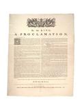 A Proclamation, 1763 Giclee-trykk