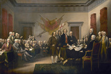 Signing the Declaration of Independence, July 4th, 1776 Reproduction procédé giclée par John Trumbull