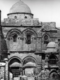 The Church of the Holy Sepulchre, 1857 Fotografisk tryk af  James Robertson and Felice Beato