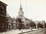 Independence Hall, Chestnut Street, South Side Between 5th and 6th Streets, 1898 Reproduction photographique par James Shields