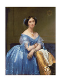 Portrait of the Princesse De Broglie, 1853 Giclée-tryk af Jean-Auguste-Dominique Ingres