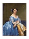 Portrait of the Princesse De Broglie, 1853 Giclée-Druck von Jean-Auguste-Dominique Ingres