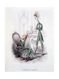A Stormy Household, Illustration from 'L'Empire Des Legumes Memoires De Curcurbitus', Published… Giclée-Druck von Amedee Varin