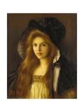 Beautiful Betty Giclée-tryk af Albert Lynch