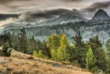 Round Top Landscape, Alpine County Fotografisk trykk av Vincent James
