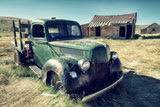 Scene at Bodie Ghost Town Photographic Print by Vincent James