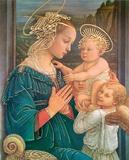 La Vergine Col Figlio Posters af Fra Filippo Lippi