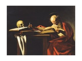 St. Jerome, 1606 Giclee Print by  Caravaggio