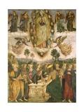 The Assumption of the Virgin Giclée-tryk af Bernardino di Betto Pinturicchio