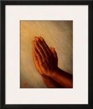 Praying Hands Pôsters por Tim Ashkar
