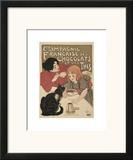 Compagnie Francaise des Chocolats Pôsters por Théophile Alexandre Steinlen