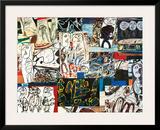 Tissu d'Episode, 1976 Pôsteres por Jean Dubuffet
