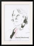 Zeichnungen und Druckgraphik Poster por David Hockney