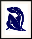 Blue Nude II Posters by Henri Matisse