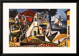 Mediterranean Landscape Posters by Pablo Picasso
