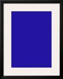 Untitled, Blue Monochrome, c.1961 (IKB73) Print by Yves Klein