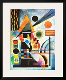 Balancement Poster by Wassily Kandinsky